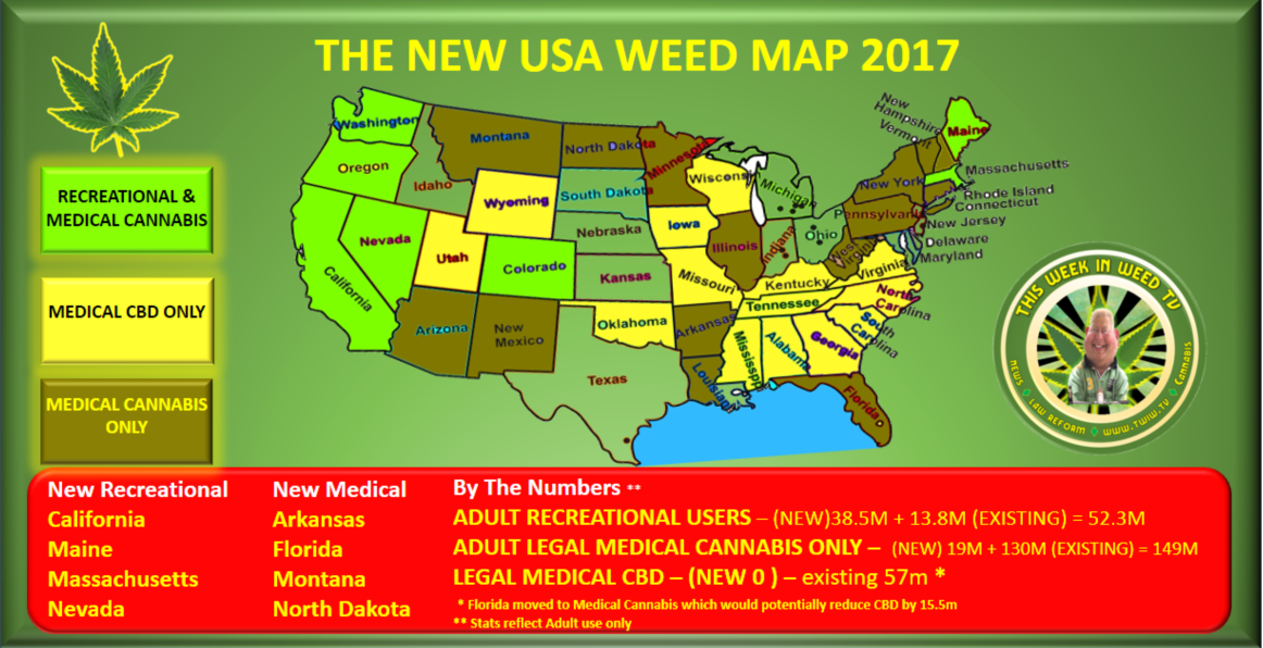 Response Patient Access To Medicinal Cannabis In South Australia - Us map of legal weed 2017