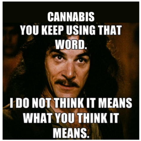 500 cannabis word mean
