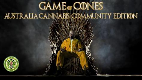 GOT Cannabis cones thrones